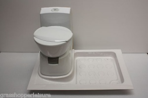 Shower Tray Lh To Suit Thetford C200 Cassette Toilet
